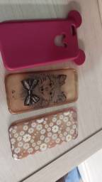 3 capinhas usadas iPhone 6