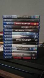 Jogos PS4:  3x sem juros no cartão - Desconto a vista