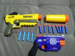 1 Nerf FortNite SPL + 1 Air blaster