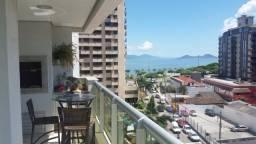 Apartamento 2 suítes com vista Beira-Mar e 2 vagas de garagem