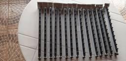 RT cabideiro para painel canaletado 15 unidades