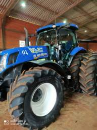Trator NH T7.260 ano 2018 com 931 hrs