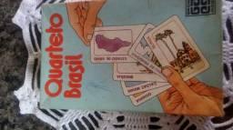 Jogo de Cartas Quarteto Brasil