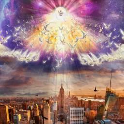 Quadro Volta De Jesus - New York - A3 42x30cm - Religioso