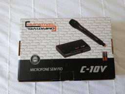 Vende-se Microfone sem fio