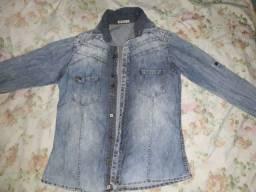 Jaqueta jeans tamanho P