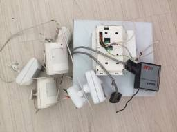 Alarme residencial ou para loja completo com central para para monitoramento