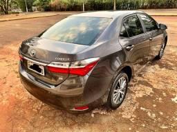 Toyota Corolla 2018 GLI 1.8 Flex zerado opcionais do XEI / tro.co e financio