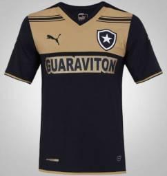 3 Camisas Time Botafogo - Goiás - Cruzeiro