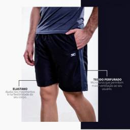 Go! Moda Fitness / Bermuda com short de compressão