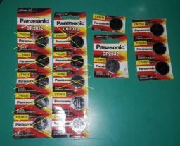 Baterias Panasonic Crv2032 Nova Lacrada Original Lithium 3v