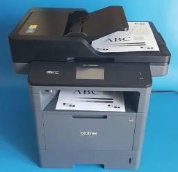 Título do anúncio: Impressora laser  multifuncional Brother L-5652  Wi-fi Duplex