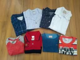 Lote roupa infantil menino