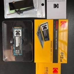 Título do anúncio: Hd Ssd Interno 512gb Nvme M2 Notebook Lenovo Sony Samsung MacBook Air Pro
