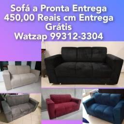 Título do anúncio: SOFÁ COM ENTREGA GRÁTIS POR R$450