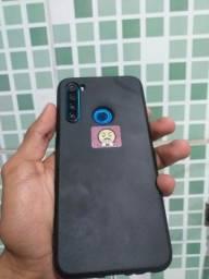 Título do anúncio: Xiaome Note 8 Celular lindo ? Troco por A21s ou iPhone