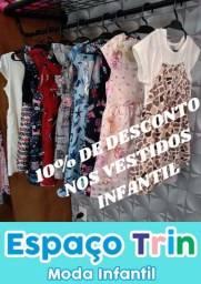 Vestidos infantil 10% OFF