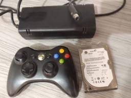 Vendo HD interno 120 gigas de notebook e fonte original Xbox 360 de 1 pino