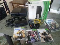 Xbox 360 slim destravado mais jogos