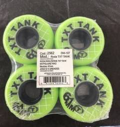 8 rodas de patins traxart 61 mm