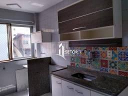 Apartamento com 2 quartos para alugar, 54 m² por R$ 500/mês - Bandeirantes - Juiz de Fora/