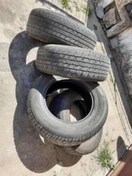 Jogo pneus 265x65x17 e 205x55x16