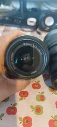 Título do anúncio: Lente 18 - 55 mm e 70 - 300 mm da Nikon