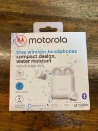 Fone De Ouvido Bluetooth Motorola Verve Buds 110 - Branco