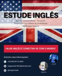 Estude inglês e espanhol em casa (Aulas particulares 100% ao vivo)