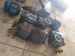 Vendo motores e redutores