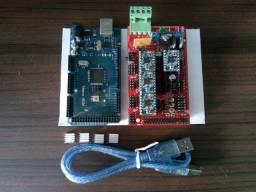 Arduino mega 2560 Ramps drivers A4988 para impressora 3d