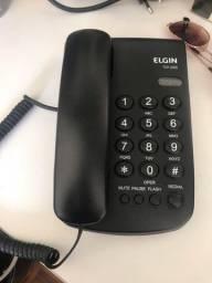Título do anúncio: Telefone fixo Elgin e Binóculo