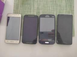 Celulares (Samsung, Motorola e LG)
