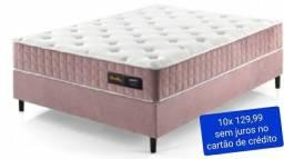 """Cama box casal molas liberty Rose # NOVO #""""10 x sem juros no cartão de crédito"""