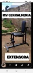 Título do anúncio: Musculação (fabricação) ginastica