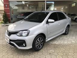 Toyota Etios Platinum Sedan 1.5 Flex 2019 Automático (Top - Na Garantia)