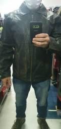 Jaqueta de couro stonado estilo Harley Davidson Torro!!