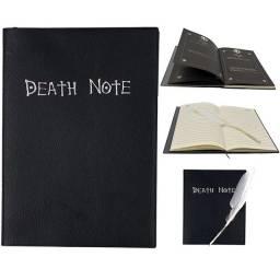 Caderno death note + pena de escrever