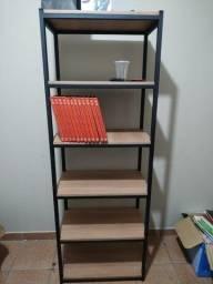 mesas home office/estante para livros
