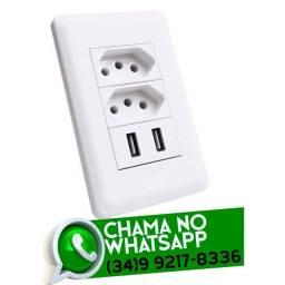 Título do anúncio: Tomada USB Dupla * Fazemos Entregas