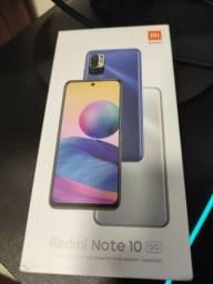 Título do anúncio: Xiaomi redmi note 10 5g novo com nota fiscal e garantia