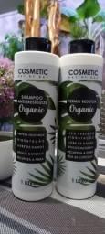 Título do anúncio: Termo redutor orgânico com shampoo todos de 1 litro total 2 litros