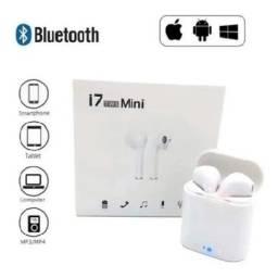 Fones De Ouvido S/ Fio Bluetooth 5.0 I7 Mini Tws