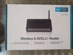 Roteador Modem Dsl 2640b Adsl2+ Wifi D-link Original