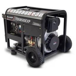 Gerador a Gasolina para Emergências 7 Kva TDG8500Exp Toyama