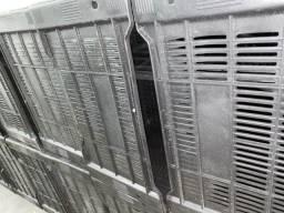 Queima de estoque caixa plástica nova atacado 40 reais a unidade
