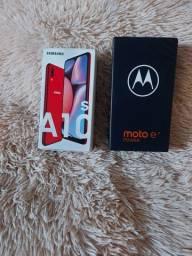 Título do anúncio: Smartphone A10s e Moto e7 power 32GB