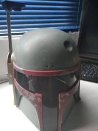Kit arma e capacete do boba Fett star wars