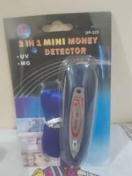 Mini detector de notas falsas laser