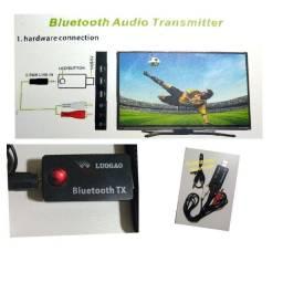 Transmissor de Áudio Bluetooth P/ TVs, PC, Notebook, Tv Box